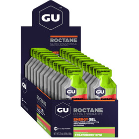 GU Energy Roctane Energy Gel Box 24 x 32g, Strawberry Kiwi